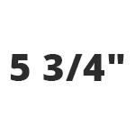 "5 3/4"""