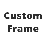 *Custom Frame Depths Available